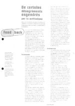 De certains désagréments engendrés par la méthadone - application/x-pdf