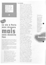 La vie à Paris avec drogues mais sans domicile fixe - application/x-pdf