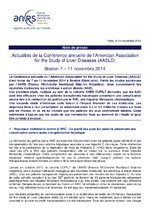 Actualités de la Conférence annuelle de l'American Association for the Study of Liver Diseases (AASLD), Boston 7-11 novembre 2014 - application/x-pdf