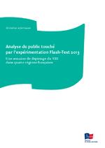 Analyse du public touché par l'expérimentation Flash-Test 2013 : une semaine de dépistage du VIH dans quatre régions françaises - application/x-pdf