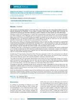 Analyse du public touché lors de l'opération Flash Test 2013 de dépistage rapide du VIH dans quatre régions françaises - application/x-pdf