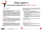 Fiche repère 1 : connaissances générales sur le VIh et le sida  - application/x-pdf