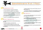 Questionnaire vrai / faux - application/x-pdf
