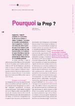 Pourquoi la Prep ? - application/x-pdf