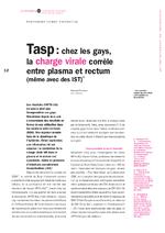 Tasp : chez les gays, la charge virale corrèle entre plasma et rectum (même avec des IST) - application/x-pdf