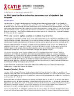 La PPrE serait efficace chez les personnes qui s'injectent des drogues - application/x-pdf