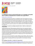 Le traitement comme outil de prévention : les avantages préventifs pour l'individu s'étendent-ils à l'échelon de la population ? - application/x-pdf