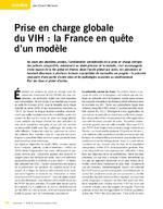 Prise en charge globale du VIH : la France en quête d'un modèle - application/x-pdf