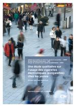 Une étude qualitative sur l'usage des cigarettes électroniques  - application/pdf
