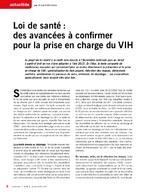 Loi de santé : des avancées à confirmer pour la prise en charge du VIH - application/pdf