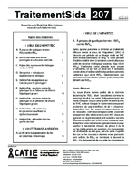 Virus de l'hépatite C : réponse virologique soutenue - application/pdf