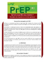 Enquête Flash PrEP : qu'est-ce qu'elle nous montre ? description des répondants et résultats généraux - application/pdf