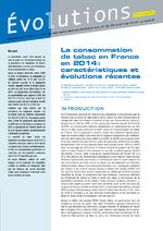 Evolutions : résultats d'études et de recherches en prévention et en éducation pour la santé - application/pdf