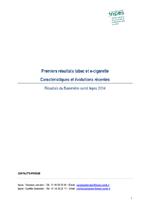 Premiers résultats tabac et e-cigarette Caractéristiques et évolutions récentes  - application/pdf