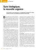 Suivi biologique, la nouvelle urgence - application/pdf