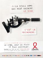 La seule arme qui peut vaincre le sida, c'est la recherche - application/pdf