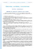 Arrêté du 9 novembre 2010 fixant les conditions de réalisation des tests rapides d'orientation diagnostique de l'infection à virus de l'immunodéficience humaine - application/pdf