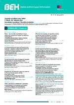 BEH (Bulletin Epidémiologique Hebdomadaire) - application/pdf