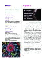 Prévention de la transmission mère-enfant du virus de l'hépatite B - application/pdf