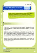 Genre et rapports de pouvoir : la clé de l'efficacité en éducation à la sexualité - application/pdf