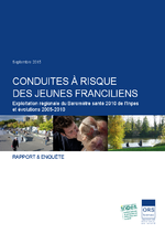 Conduites à risque des jeunes Franciliens : exploitation régionale du Baromètre santé 2010 de l'Inpes et évolutions 2005-2010 [rapport] - application/pdf
