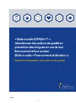 Checklist d'évaluation des critères de qualité - application/pdf