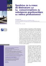 Synthèse de la revue de littérature sur les consommations de substances psychoactives en milieu professionnel  - application/pdf