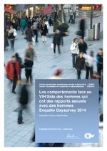 Raisons de santé n° 253 Les comportements face au VIH/sida des hommes qui ont des rapports sexuels avec des hommes : enquête Gaysurvey 2014  - application/pdf