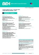 BEH Vol 2015 n° 40-41 Journée mondiale du sida, 1er décembre 2015 - application/pdf