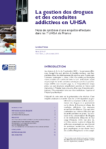 La gestion des drogues et des conduites addictives en UHSA  - application/pdf