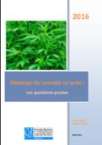 Dépistage du cannabis au lycée : les questions posées - application/pdf
