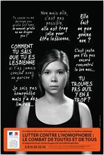 """""""je suis pas homophobe mais y'a des limites"""" ... [jeune fille cheveux attachés] - image/jpeg"""