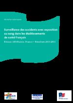 Surveillance des accidents avec exposition au sang dans les établissements de santé français : résultats AES-Raisin 2013-2014 - application/pdf