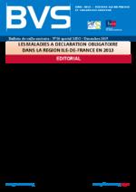 BVS Ile-de-France n° 20 Les maladies à déclaration obligatoire dans la région Ile-de-France en 2013 - application/pdf