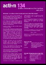 Action n° 134 La lutte contre le sida est une lutte féministe ! - application/pdf