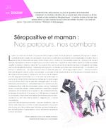 Séropositive et maman : nos parcours, nos combats - application/pdf