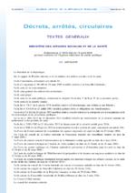 Ordonnance n° 2016-462 du 14 avril 2016 portant création de l'Agence nationale de santé publique - application/pdf