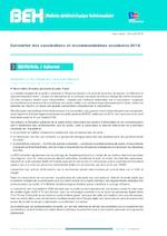 BEH Vol 2016 Hors-série : Calendrier des vaccinations et recommandations vaccinales 2016 - application/pdf