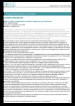 Mise en place du parcours éducatif de santé pour tous les élèves - application/pdf