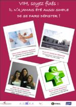 VIH, soyez fixés : il n'a jamais été aussi simple de se faire dépister ! - application/pdf