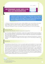 Les personnes vivant avec le VIH face aux discriminations - application/pdf