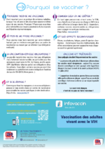 Vaccination des adultes vivant avec le VIH - application/pdf