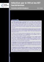 Infection par le VIH et les IST bactériennes : Données épidémiologiques  - application/pdf